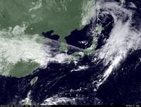 ひまわり7号可視画像 2014年9月18日12時JST