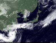 ひまわり7号可視画像 2014年9月21日12時JST