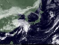 ひまわり7号可視画像 2014年9月23日12時JST