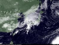 ひまわり7号可視画像 2014年9月24日12時JST