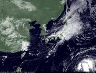 ひまわり7号可視画像 2014年9月25日12時JST