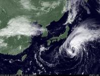 ひまわり7号可視画像 2014年9月28日12時JST