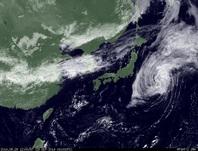 ひまわり7号可視画像 2014年9月29日12時JST
