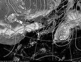 ひまわり7号可視画像・天気図合成 2014年9月29日12時JST