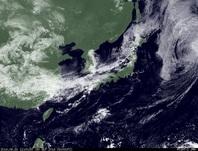 ひまわり7号可視画像 2014年9月30日12時JST