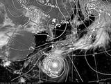 ひまわり7号可視画像・天気図合成 2014年10月4日12時JST