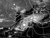 ひまわり7号可視画像・天気図合成 2014年10月5日12時JST