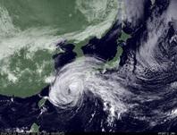 ひまわり7号可視画像 2014年10月12日12時JST