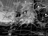 ひまわり7号可視画像・天気図合成 2014年11月1日12時JST