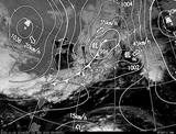 ひまわり7号可視画像・天気図合成 2014年11月2日12時JST