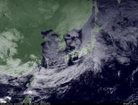 ひまわり7号可視画像 2014年12月1日12時JST