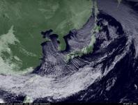ひまわり7号可視画像 2014年12月2日12時JST