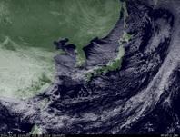 ひまわり7号可視画像 2014年12月3日12時JST