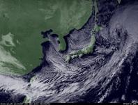 ひまわり7号可視画像 2014年12月5日12時JST