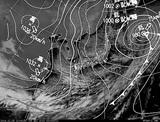 ひまわり7号可視画像・天気図合成 2014年12月5日12時JST