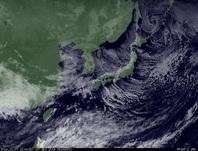 ひまわり7号可視画像 2014年12月8日12時JST