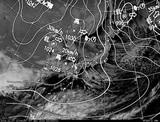 ひまわり7号可視画像・天気図合成 2014年12月8日12時JST