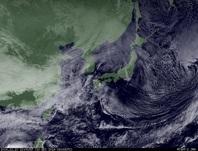 ひまわり7号可視画像 2014年12月10日12時JST