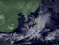 ひまわり7号可視画像 2014年12月29日12時JST