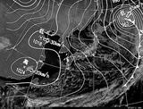 ひまわり7号可視画像・天気図合成 2014年12月30日12時JST