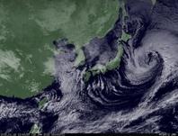 ひまわり7号可視画像 2015年1月16日12時JST
