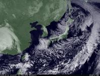 ひまわり7号可視画像 2015年2月10日12時JST