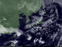 ひまわり7号可視画像 2015年2月11日12時JST