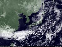 ひまわり7号可視画像 2015年3月12日12時JST